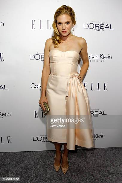 Actress MacKenzie Mauzy attends the 22nd Annual ELLE Women in Hollywood Awards presented by Calvin Klein Collection L'Oréal Paris and David Yurman at...