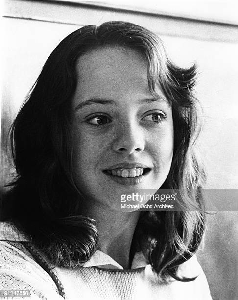 Actress Mackenzie Phillips acts in a scene from the movie American Graffiti which was released on August 11 1973