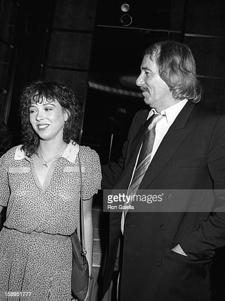 Actress Mackenzie Phillips and musician John Phillips attend Electra Asylum Party for Richard Perry on November 2 1981 at the Rainbow Room in New...