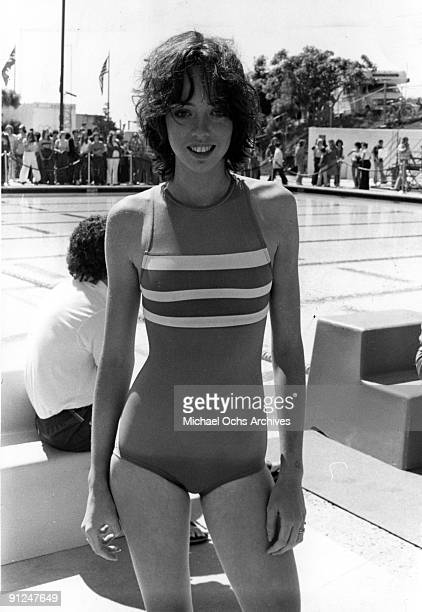 Actress Mackenzie Phillips attends a celebrity charity sporting event in circa 1976