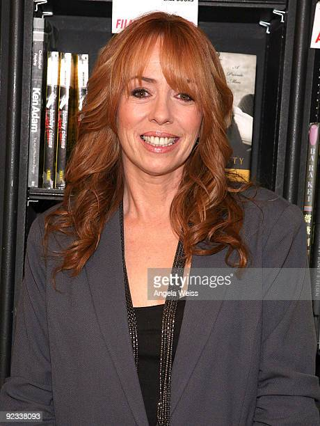 Actress Mackenzie Phillips attends a signing for her book 'High On Arrival' at Book Soup on October 25 2009 in West Hollywood California
