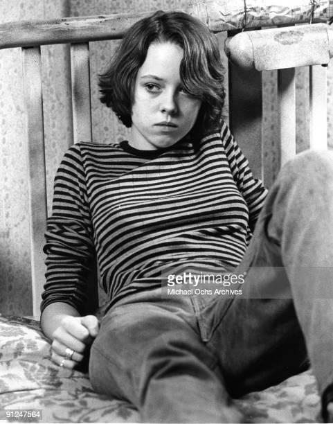 Actress Mackenzie Phillips plays the role of Frisbee as she acts in a scene from the movie Rafferty The Gold Dust Twins which was released in 1975