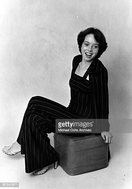 Actress Mackenzie Phillips poses for a fashion layout on September 9 1976 in Los Angeles California