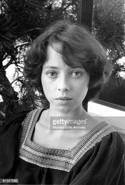 Actress Mackenzie Phillips poses for a portrait session in June of 1976 in Los Angeles California