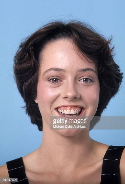 Actress Mackenzie Phillips poses for a portrait session in September of 1976 in Los Angeles California