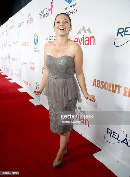Actress Mackenzie Rosman attends PATHWAY TO THE CURE: A fundraiser benefiting Susan G. Komen presented by Pathway Genomics, Relativity Media and...