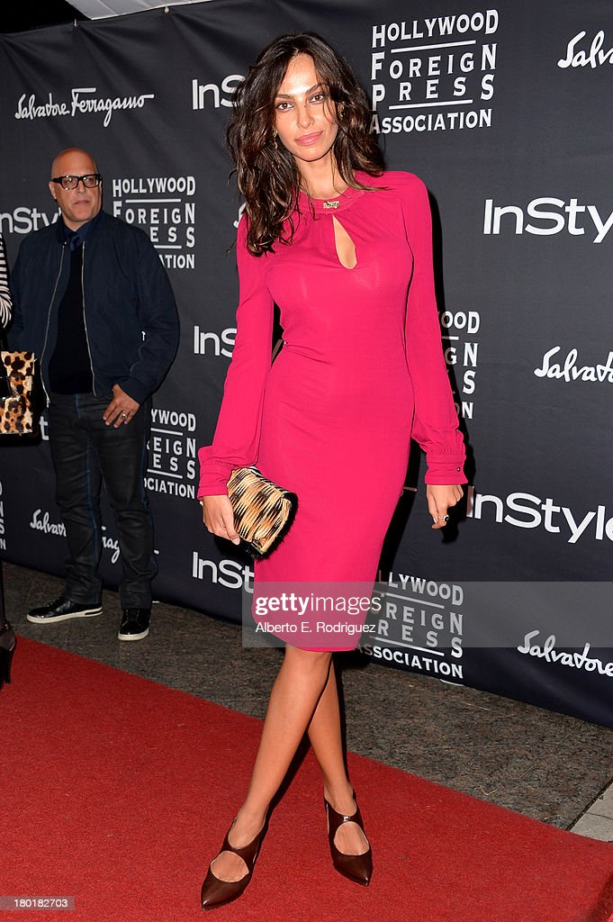 Actress Madalina Diana Ghenea arrives at the TIFF HFPA / InStyle Party during the 2013 Toronto International Film Festival at Windsor Arms Hotel on September 9, 2013 in Toronto, Canada.