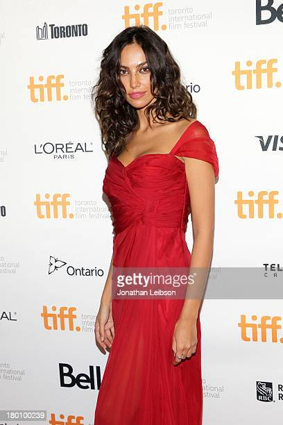Actress Madalina Ghenea arrives at the Dom Hemingway Premiere during the 2013 Toronto International Film Festival at Princess of Wales Theatre on...