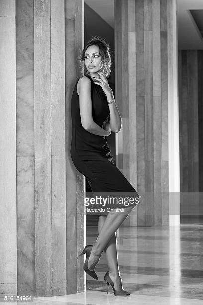 Actress Madalina Ghenea is photographed for Self Assignment on March 5 2016 in MonteCarlo Monaco