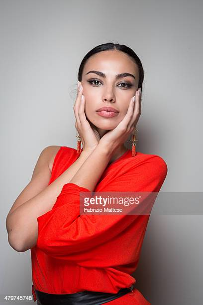 Actress Madalina Ghenea is photographed for The Hollywood Reporter on May 15 2015 in Cannes France