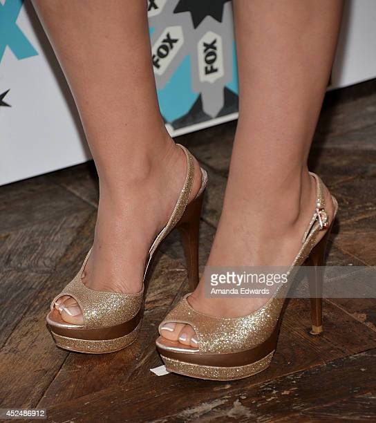 Actress Madalyn Horcher arrives at the 2014 Television Critics Association Summer Press Tour FOX AllStar Party at Soho House on July 20 2014 in West...