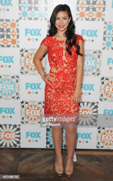 Actress Madalyn Horcher arrives at the FOX AllStar Party 2014 Television Critics Association Summer Press Tour at Soho House on July 20 2014 in West...