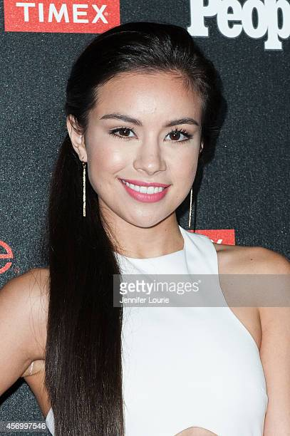 Actress Madalyn Horcher arrives at the People's One To Watch Event at The Line on October 9 2014 in Los Angeles California