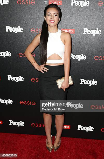 Actress Madalyn Horcher attends People's Ones To Watch Event at The Line on October 9 2014 in Los Angeles California