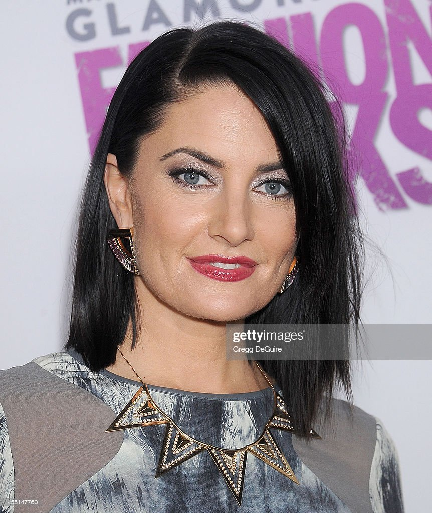 Actress Madchen Amick arrives at Macy's Passport Glamorama 'Fashion Rocks' at Create Nightclub on September 9, 2014 in Los Angeles, California.
