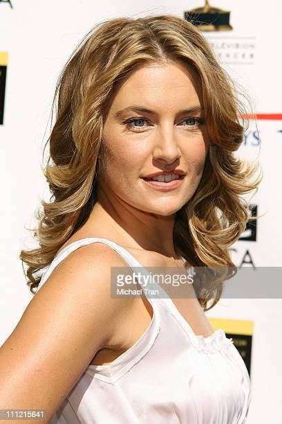 Actress Madchen Amick arrives at the BAFTA/LA 5th Annual Tea Party at Wattles Mansion on September 15 2007 in Hollywood California