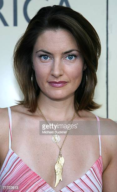 Actress Madchen Amick arrives at the BAFTA/LAAcademy of Television Arts and Sciences Tea Party at the Century Hyatt on August 26 2006 in Century City...