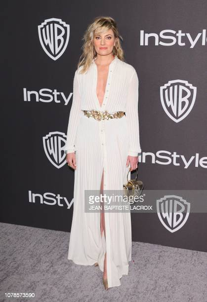 US actress Madchen Amick arrives for the Warner Bros and In Style 20th annual post Golden Globes party at the Oasis Courtyard of the Beverly Hilton...
