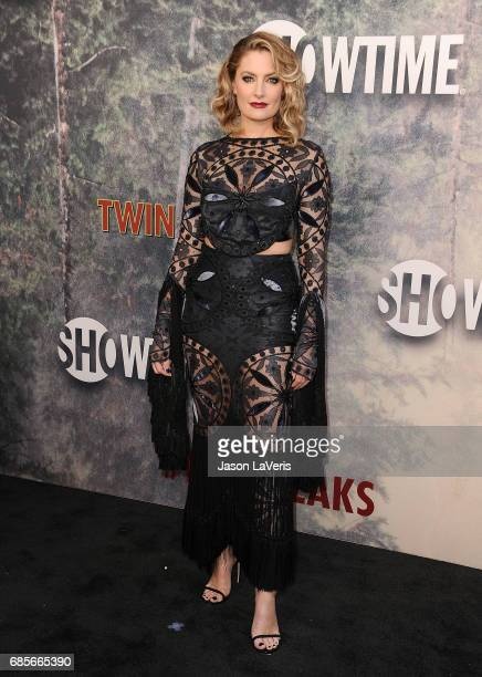 Actress Madchen Amick attends the premiere of 'Twin Peaks' at Ace Hotel on May 19 2017 in Los Angeles California