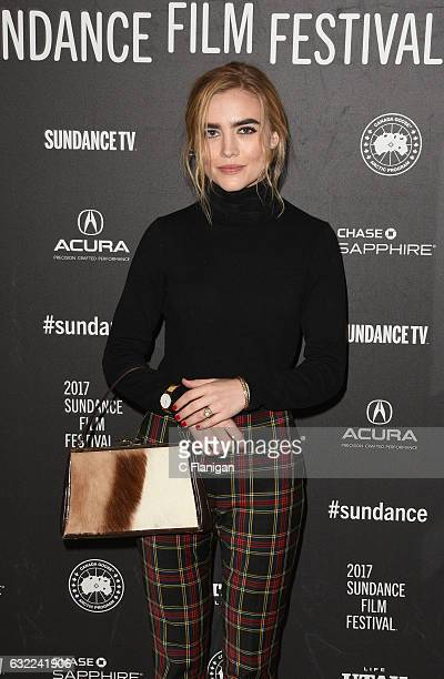 Actress Maddie Hasson attends the 'Novitate' premiere during day 2 of the 2017 Sundance Film Festival at Eccles Center Theatre on January 20 2017 in...