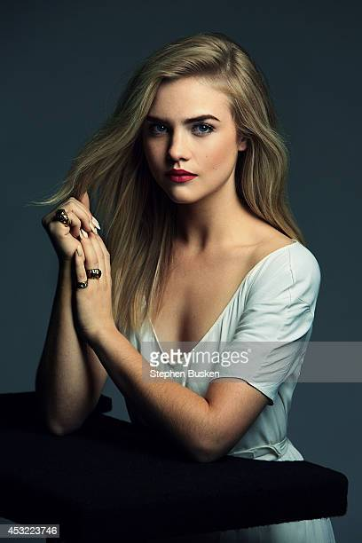 Actress Maddie Hasson is photographed on August 23 2013 for Self Assignment in Hollywood California