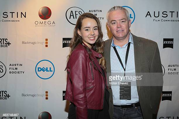 Actress Maddie Howard and Chris Howard attend The Austin Film Society Austin Film Commission Host A Party To Celebrate Austin Filmmakers At Sundance...