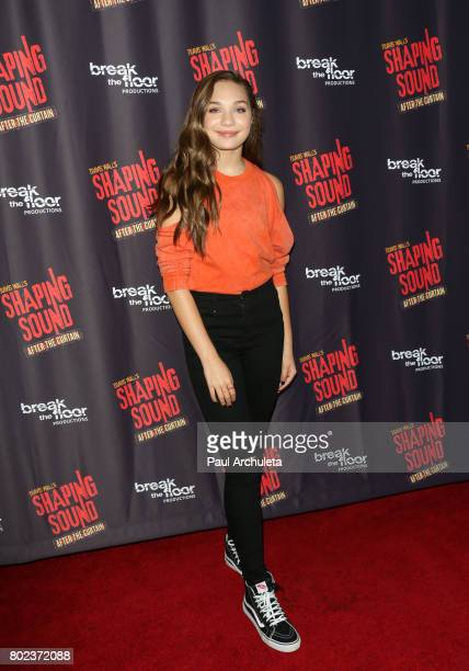 Actress Maddie Ziegler attends the opening night of Shaping Sound After The Curtain at Royce Hall on June 27 2017 in Los Angeles California