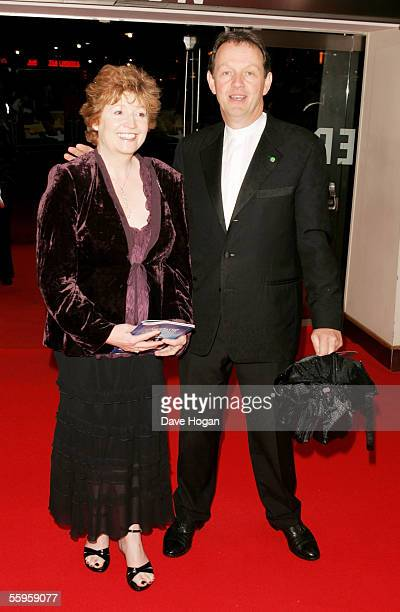Actress Madelaine Newton and her husband actor Kevin Whately arrive at the UK Premiere of The Constant Gardener as the opening gala for The Times BFI...