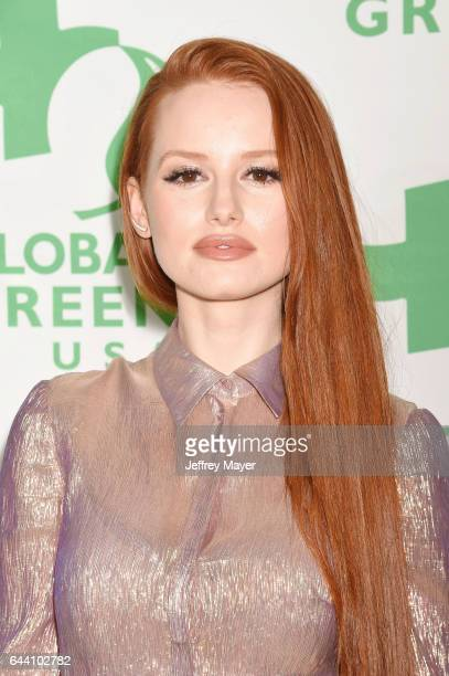 Actress Madelaine Petsch arrives at the 14th Annual Global Green PreOscar Gala at TAO Hollywood on February 22 2017 in Los Angeles California