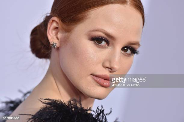 Actress Madelaine Petsch arrives at the 2017 American Music Awards at Microsoft Theater on November 19 2017 in Los Angeles California