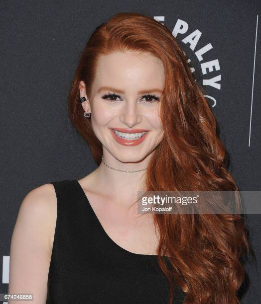 Actress Madelaine Petsch arrives at the 2017 PaleyLive LA Spring Season Riverdale Screening And Conversation at The Paley Center for Media on April...
