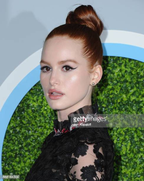 Actress Madelaine Petsch attends the 2017 GQ Men Of The Year Party at Chateau Marmont on December 7 2017 in Los Angeles California