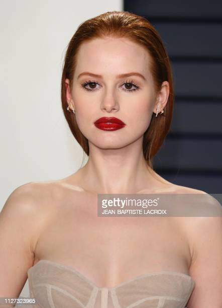 Actress Madelaine Petsch attends the 2019 Vanity Fair Oscar Party following the 91st Academy Awards at The Wallis Annenberg Center for the Performing...