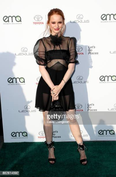 Actress Madelaine Petsch attends the 27th Annual EMA Awards at Barker Hangar on September 23 2017 in Santa Monica California