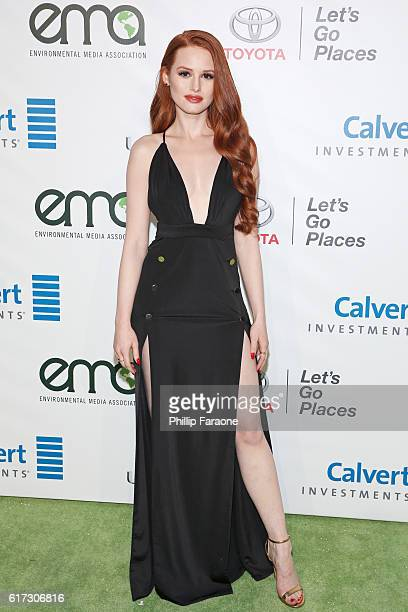 Actress Madelaine Petsch attends the Environmental Media Association 26th Annual EMA Awards Presented By Toyota Lexus And Calvert at Warner Bros...