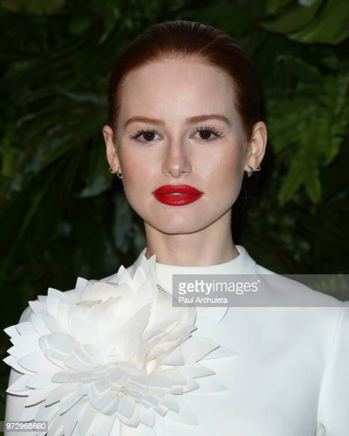 Actress Madelaine Petsch attends the Max Mara WIF Face Of The Future event at the Chateau Marmont on June 12 2018 in Los Angeles California