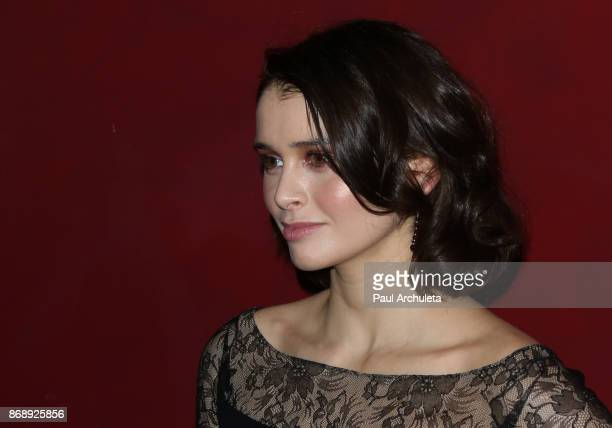 Actress Madelein Coghlan attends the screening of 'Rock Paper Dead' at ArcLight Cinemas on October 31 2017 in Hollywood California