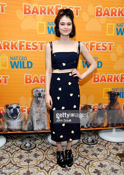 Actress Madeleine Coghlan attends National Geographic Channel's Barkfest Brunch at Palihouse on April 9 2016 in West Hollywood California