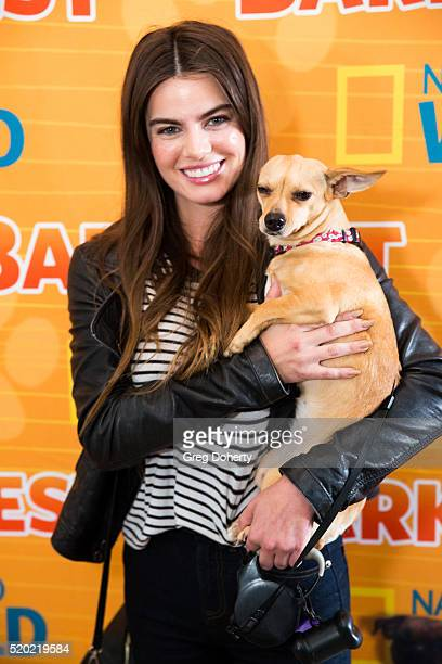 Actress Madeleine Coghlan attends the Barkfest at Palihouse Holloway on April 9 2016 in West Hollywood California