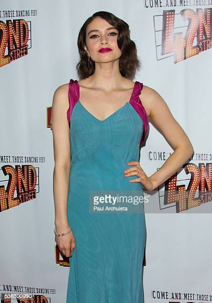 Actress Madeleine Coghlan attends the opening night of 42nd Street at the Pantages Theatre on May 31 2016 in Hollywood California