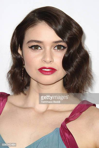 Actress Madeleine Coghlan attends the opening of 42nd Street at the Pantages Theatre on May 31 2016 in Hollywood California