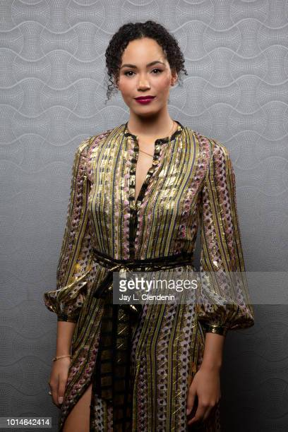Actress Madeleine Mantock from 'Charmed' is photographed for Los Angeles Times on July 19 2018 in San Diego California PUBLISHED IMAGE CREDIT MUST...