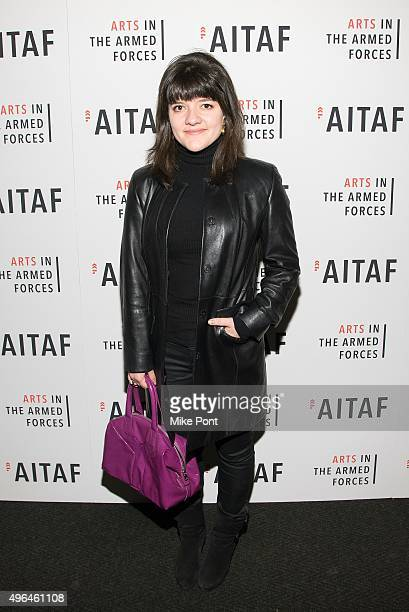 Actress Madeleine Martin attends the Arts in the Armed Forces 7th annual performance of 'Lobby Hero' at Studio 54 on November 9 2015 in New York City