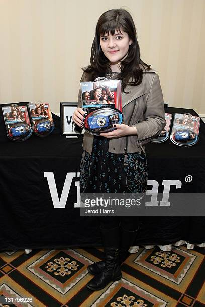 Actress Madeleine Martin attends the HBO Luxury Lounge in honor of the 68th Annual Golden Globe Awards at The Four Seasons Hotel on January 15 2011...