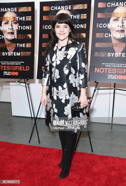 Actress Madeleine Martin attends the 'Notes From The Field' New York screening at Museum of Modern Art on February 21 2018 in New York City