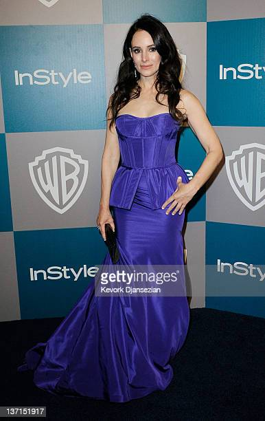 Actress Madeleine Stowe arrives at 13th Annual Warner Bros And InStyle Golden Globe Awards After Party at The Beverly Hilton hotel on January 15 2012...
