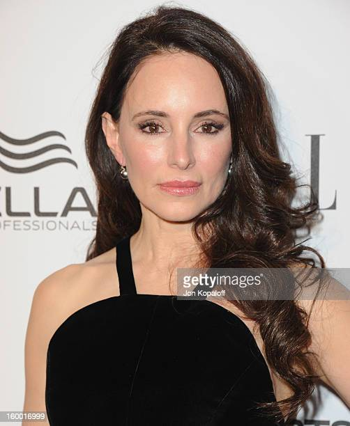 Actress Madeleine Stowe arrives at ELLE's 2nd Annual Women In TV Event at Soho House on January 24 2013 in West Hollywood California
