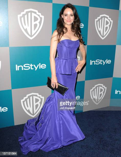 Actress Madeleine Stowe arrives at the 13th Annual Warner Bros. And InStyle Golden Globe After Party held at The Beverly Hilton hotel on January 15,...