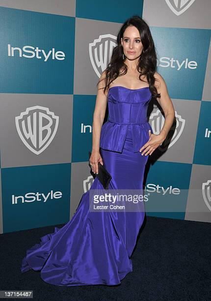 Actress Madeleine Stowe arrives at the 13th Annual Warner Bros and InStyle Golden Globe After Party held at The Beverly Hilton hotel on January 15...