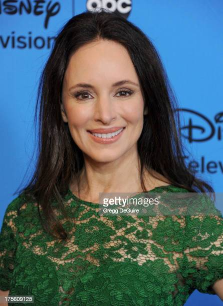Actress Madeleine Stowe arrives at the 2013 Disney/ABC Television Critics Association's summer press tour party at The Beverly Hilton Hotel on August...